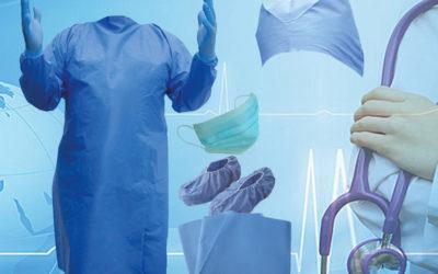 Importancia del uso de uniformes quirúrgicos desechables