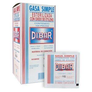 GASA SIMPLE 10x10 EST C/100 DIBAR