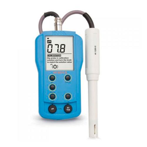 Medidor Ph/Ec/Tds Temperatura 0-6 Hanna