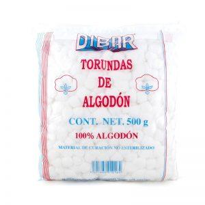 Algodon Torunda 500grs Mca Dibar