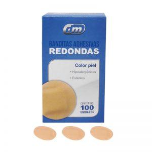 Bandita Redonda(Curita) 2.5*3.2cms C/100