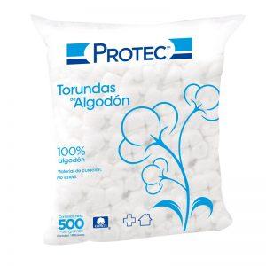 Torunda Algodon 500 Grs Mca Protec