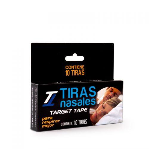 TARGET TAPE TIRAS NASALES C/10pzas