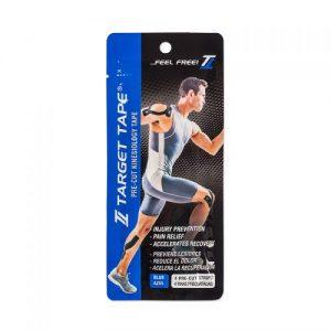 Target Tape C/4 Tiras Color Azul